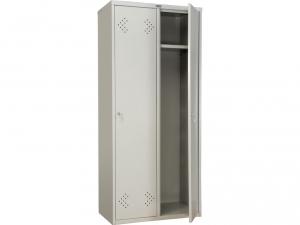 Шкаф металлический для одежды ПРАКТИК LS(LE)-21-80