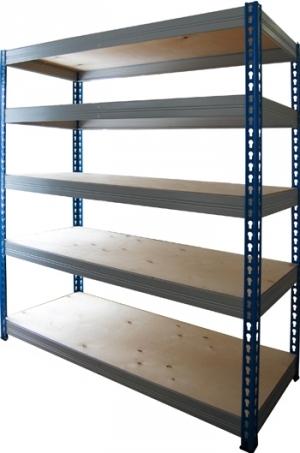 Стеллаж металлический складской 15765-2,0 купить на выгодных условиях в Ставрополе